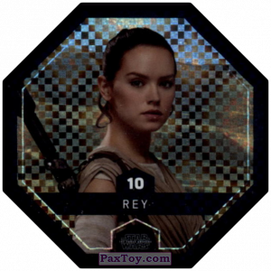 PaxToy.com - #10 Rey Foil из Bi-Lo: Star Wars Cosmic Shells