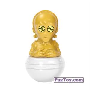 PaxToy.com - 11 C-3PO из Магнит: Star Wars Фигурки-Героев (Неваляшки)