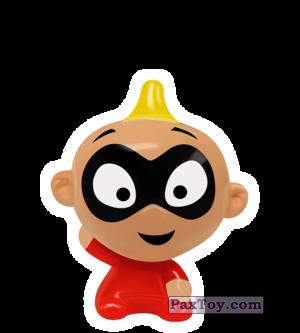 PaxToy.com - 11 Jack-Jack - The Incredibles из REWE: Die Disney Wikkeez Toys