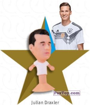 PaxToy.com - 11 Julian Draxler из REWE: DFB Fussball Popz 2018 (Stikeez)