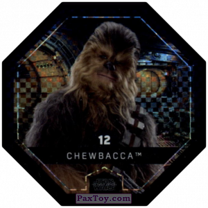 PaxToy.com - #12 Chewbacca Foil из Bi-Lo: Star Wars Cosmic Shells