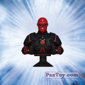 PaxToy.com  Stikeez, Прилипалы 12 Red Skull (Canada) из Air Miles: Marvel Mania (Micropopz)