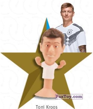 PaxToy.com - 12 Toni Kroos из REWE: DFB Fussball Popz 2018 (Stikeez)