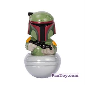 PaxToy.com - 13 Бобба Фет из Магнит: Star Wars Фигурки-Героев (Неваляшки)