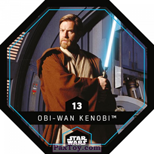 PaxToy.com - 13 Obi-Wan Kenobi из REWE: Star Wars Cosmic Shells