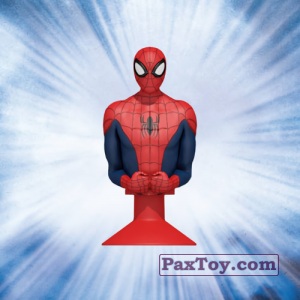 PaxToy.com  Stikeez, Прилипалы 13 Spider-Man (Canada) из Air Miles: Marvel Mania (Micropopz)