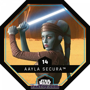 PaxToy.com - 14 Aayla Secura из REWE: Star Wars Cosmic Shells
