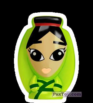 PaxToy.com - 14 Mulan - Mulan из REWE: Die Disney Wikkeez Toys