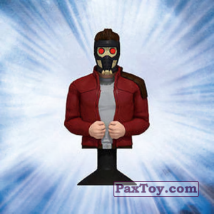 PaxToy.com - 14 Star-Lord (Canada) из Air Miles: Marvel Mania (Micropopz)