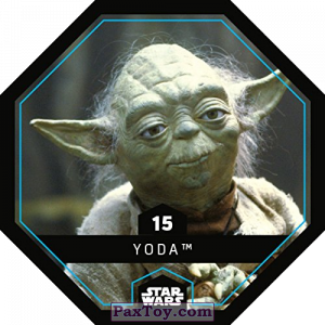 PaxToy.com - 15 Yoda из REWE: Star Wars Cosmic Shells