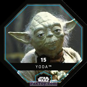 PaxToy.com - 15 Yoda из REWE: Star Wars Cosmic Shells