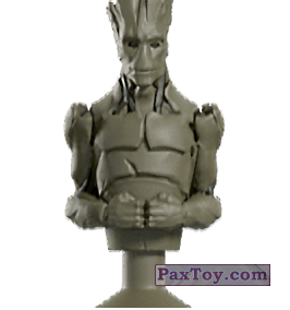PaxToy.com - Stikeez, Прилипалы 16 Groot (Canada) (Сторна-back) из Air Miles: Marvel Mania (Micropopz)