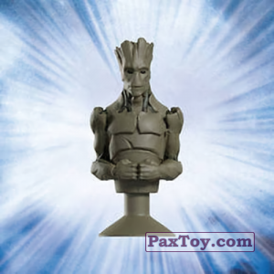 PaxToy.com  Stikeez, Прилипалы 16 Groot (Canada) из Air Miles: Marvel Mania (Micropopz)