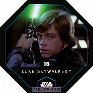 PaxToy.com - 16 Luke Skywalker из REWE: Star Wars Cosmic Shells
