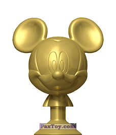 PaxToy.com - 17 Golden Mickey из Dis-Chem: Disney MicroPopz! (Stikeez)