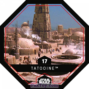 PaxToy.com - 17 Tatooine из REWE: Star Wars Cosmic Shells