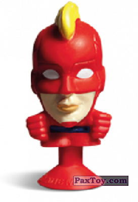 PaxToy.com - 18 Captain Marvel (Stikeez) из Carrefour: Marvel Avengers (Megapopz)