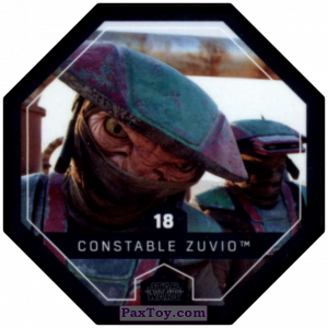 PaxToy.com - #18 Constable Zuvio из Winn-Dixie: Star Wars Cosmic Shells