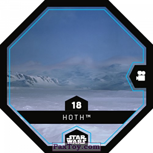 PaxToy.com - 18 Hoth из REWE: Star Wars Cosmic Shells