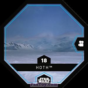 PaxToy.com - 18 Hoth из REWE: Star Wars Cosmic Shells