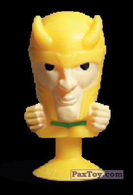PaxToy.com - 19 Loki (Stikeez) из Carrefour: Marvel Avengers (Megapopz)