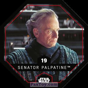 PaxToy.com - 19 Senator Palpatine из REWE: Star Wars Cosmic Shells