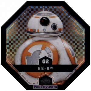 PaxToy.com - #2 BB-8 Foil из Winn-Dixie: Star Wars Cosmic Shells