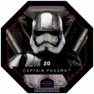 PaxToy.com - #20 Captain Phasma из Winn-Dixie: Star Wars Cosmic Shells