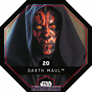 PaxToy.com - 20 Darth Maul из REWE: Star Wars Cosmic Shells