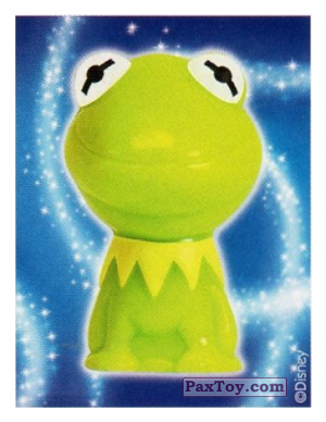 PaxToy.com - 20 Kermit - The Muppets (Sticker) из REWE: Die Disney Wikkeez Stickers