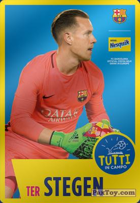 PaxToy.com - 01 ter Stegen из Nesquik: Cards F.C. Barcelona (Italy)