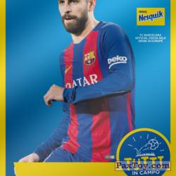 PaxToy 2017 18 Nesquik Italy   FC Barcelona  002 pique