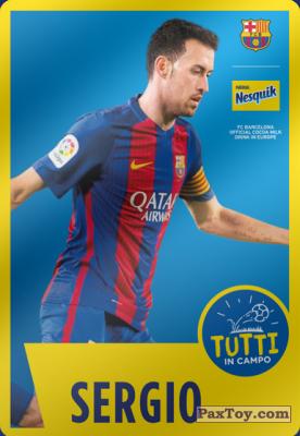 PaxToy.com - 04 Sergio из Nesquik: Cards F.C. Barcelona (Italy)