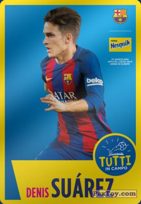 PaxToy.com - 05 Denis Suárez из Nesquik: Cards F.C. Barcelona (Italy)