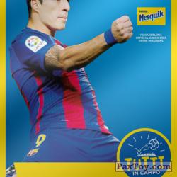 PaxToy 2017 18 Nesquik Italy   FC Barcelona  008 suarez