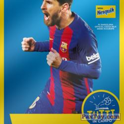 PaxToy 2017 18 Nesquik Italy   FC Barcelona  009 messi