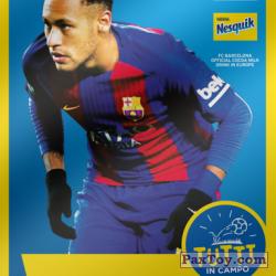 PaxToy 2017 18 Nesquik Italy   FC Barcelona  010 neymar