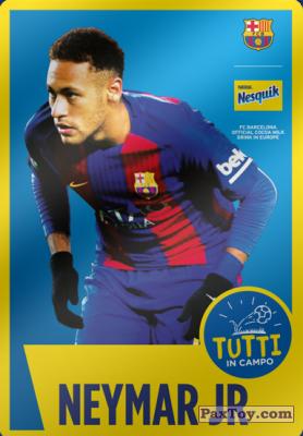 PaxToy.com - 10 Neymar Jr из Nesquik: Cards F.C. Barcelona (Italy)