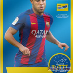 PaxToy 2017 18 Nesquik Italy   FC Barcelona  011 rafinha