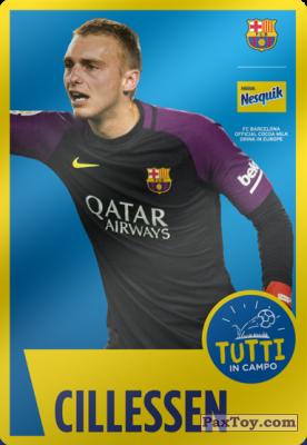PaxToy.com - 12 Cillesen из Nesquik: Cards F.C. Barcelona (Italy)