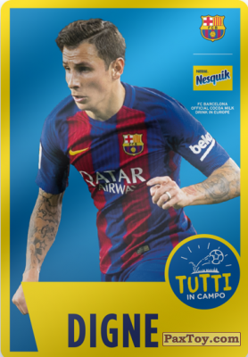 PaxToy.com - 16 Digne из Nesquik: Cards F.C. Barcelona (Italy)