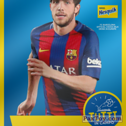 PaxToy 2017 18 Nesquik Italy   FC Barcelona  017 roberto