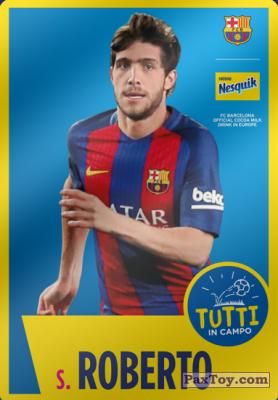 PaxToy.com - 17 S. Roberto из Nesquik: Cards F.C. Barcelona (Italy)
