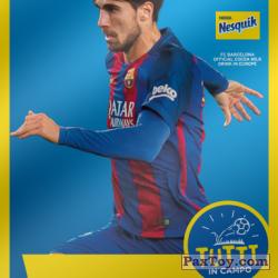 PaxToy 2017 18 Nesquik Italy   FC Barcelona  018 gomes