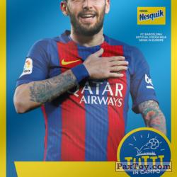 PaxToy 2017 18 Nesquik Italy   FC Barcelona  019 vidal