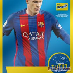 PaxToy 2017 18 Nesquik Italy   FC Barcelona  022 mathieu