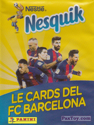 PaxToy Panini: Nesquik Cards F.C. Barcelona (Italy)