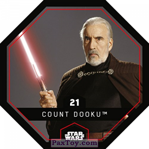 PaxToy.com - 21 Count Dooku из REWE: Star Wars Cosmic Shells