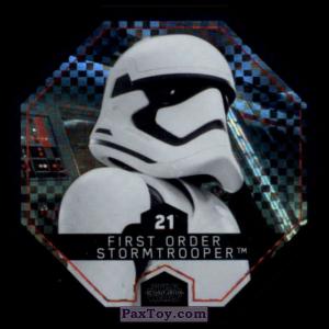 PaxToy.com - #21 First Order Stormtrooper Foil из Winn-Dixie: Star Wars Cosmic Shells