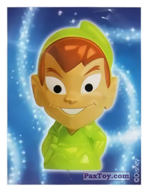 PaxToy.com - 21 Peter Pan - Peter Pan (Sticker) из REWE: Die Disney Wikkeez Stickers